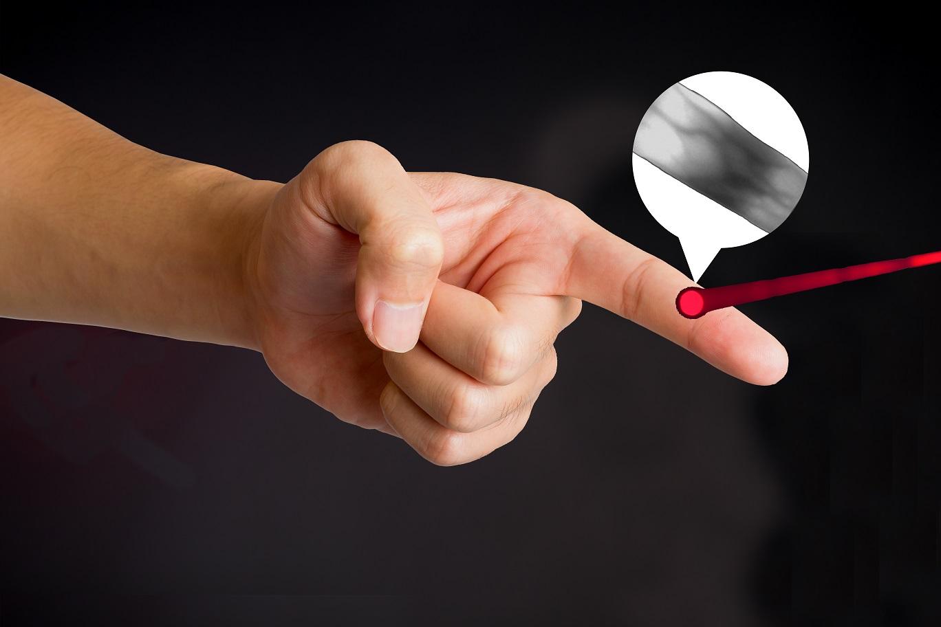 finger infrared ray